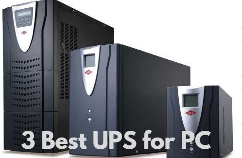 Top 3 UPS for PC (Personal Computer) in India 2017 - Best Buy Review