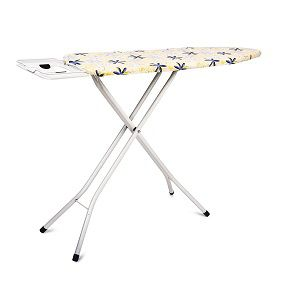 PAffy Premium Metal Ironing Board Foldable with Grilled Iron Holder