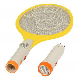 RAREERAM 2 in 1 Rechargeable Insect Racket