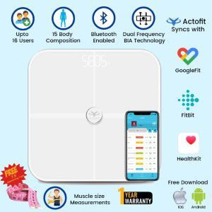 Actofit Smart Weighing Scale