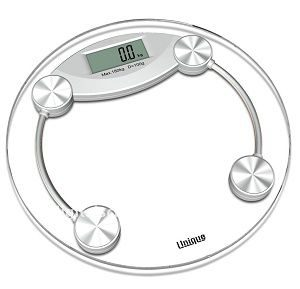 Unique Gadget 8MM Thick Tempered Glass Digital Weighing Scale