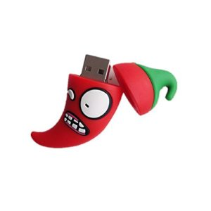 geekgoodies-fancy-designer-waterproof-rubber-plants-vs-zombies-red-chilli-design-pen-drive-8gb
