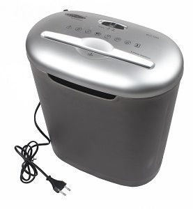 Bambalio 6 sheets Cross Cut Paper Credit Card Shredder 2 Year Warranty BCC-1000