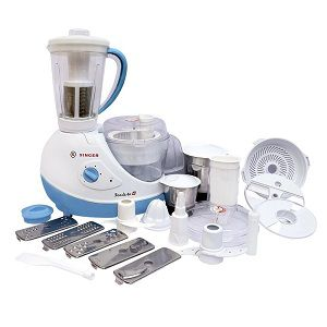 Singer FP-57 600-Watt Food Processor