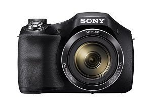 Sony Cyber-shot H300 Point and Shoot Digital Camera with 35X optical zoom