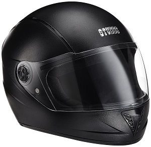 Studds Professional Full Face Helmet (Black, L)