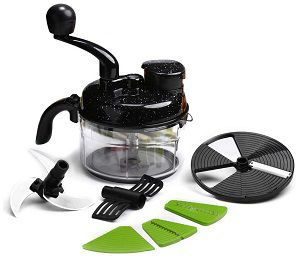 Wonderchef Turbo Dual Speed Manual Food Processor