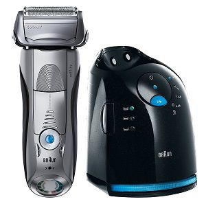 Braun Series 7 799cc Electric Wet and Dry Foil Shaver with Clean and Charge station
