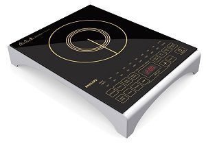 Philips Viva Collection HD4938-01 2100-Watt Induction Cooktop with Sensor Touch