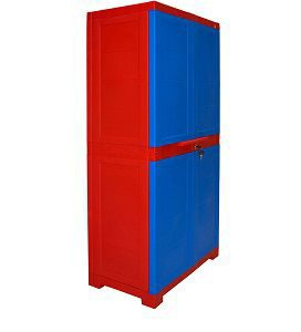 Cello Novelty Big Cupboard - Red and Blue - Copy