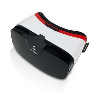 Circle VR Headset Virtual Reality 3D Glasses VR Box Adjustable 4 ~ 6.5 Inch Screen