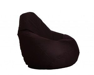Comfy Bean Bag XXL Size Wine Filled with Bean Filler