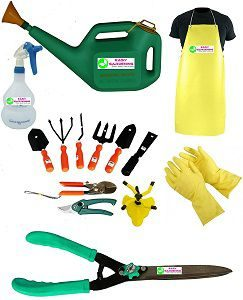 Easy Gardening - Mega Garden Tools Set (Essential 14 Garden Tools Kit)
