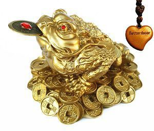 Feng Shui Money Frog (Three Legged Toad)