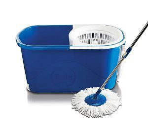 Gala Spin mop with easy wheels and bucket for magic 360 degree cleaning