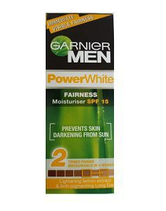 Garnier Men Power White Fairness Moisturiser SPF 15