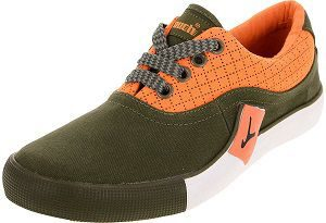 LAKHANI Men's Canvas Sneakers orenge