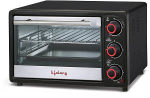 Lifelong 16L 1200-Watt Oven Toaster Griller