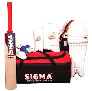 Sigma Match Size 6 Complete Cricket Kit