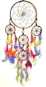 Vyne Multicolored Dream Catcher Wall Hanging