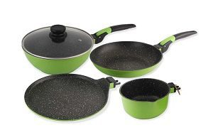 Wonderchef Click Amaze Induction Base Cookware Set