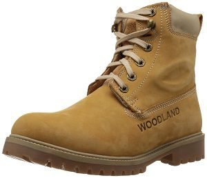Woodland Men's Leather Boots yeallo