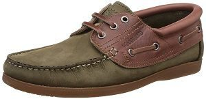 Woodland Men's Leather Sneakers stylish