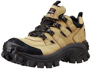 Woodland Men's Leather Sneakers tough look