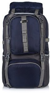 Bag-Age Polyester 60Litres Hiking & Trek Rucksack