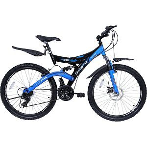 Hero SDTB26BKBL02 Octane DTB V3 Speed Bicycle, 26-inch