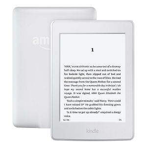 Kindle Paperwhite, 6 High Resolution Display (300 ppi) with Built-in Light, Wi-Fi White