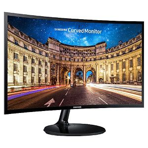 Samsung Curved LC24F390FHWXXL 23.6 inch LED Monitor