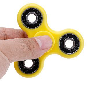 AeossTri Spinner Fidget Toy With Premium Hybrid Ceramic Bearing
