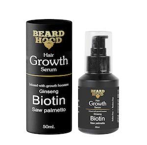 Beardhood Beard & Hair Growth Serum Growth Boosters