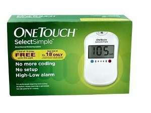 JJ One Touch Select Simple Glucometer
