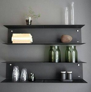 Metal Style Mild Steel Wall Shelf