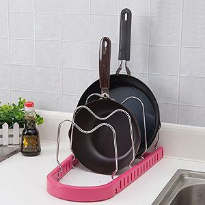 Multifunction Pan Pot Rack Cookware organizer