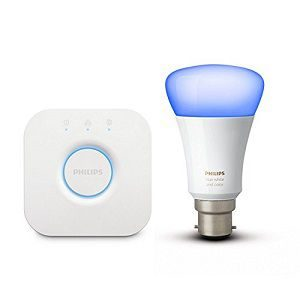 Philips Hue Mini Starter Kit with 10-Watt B22 Bulb