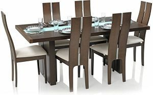 Royal Oak Daffodil Six Seater Dining Table Set