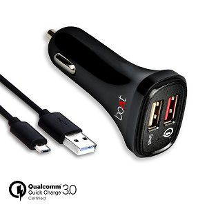 boAt Dual Port Smart Rapid Car charger