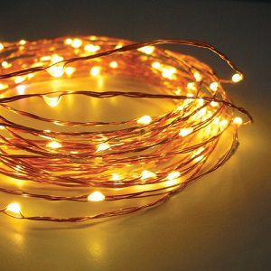 Copper String LED light 10M 100 LED