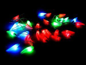 Tucasa DW-175 Chilli Shape String Light (Multicolor)