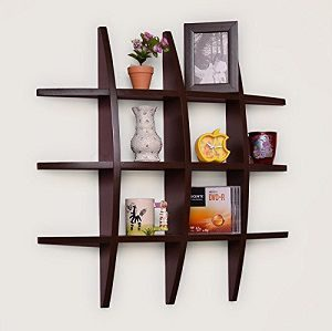 Usha Furniture Home Dã©Cor Globe Shape Floating Diy Wall Shelves Rack