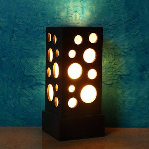 Swagger Wood Table Lamp