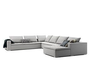 Afydecor Three Seater L-Shaped Sofa