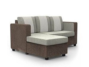Forzza Stanford L Shaped reversible Sofa