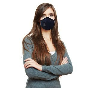 Grin Health Anti-Pollution Mask, Blue (N-Series N99)