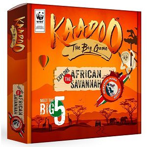 Kaadoo African Savannah Migration Mania Edition Board Game