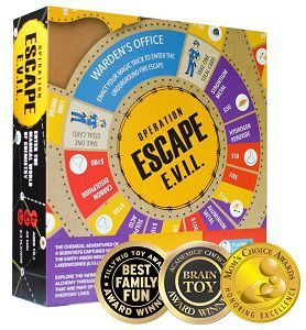Kitki ESCAPE EVIL Fun Board Game Based On Chemistry & MAGIC