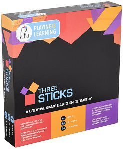 Kitki Three Sticks Maths Game For Kids Creative Educational Toy